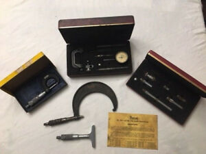 Lot Of Central Tool Co Micrometer