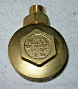 Mepco 3 4 X 3 4 2e Brass Angle Steam Trap Thermostatic Radiator Valve Fr ship