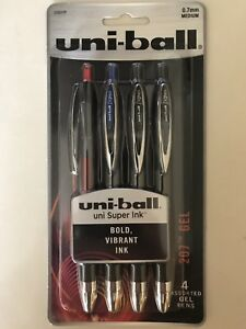 Wholesale Gel Pens 1 200 Uniball Signo 207 0 7mm Assorted Color Packs