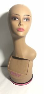 Outre 360 Turning Mannequin Head Model Stand Wig Hat Display Holder