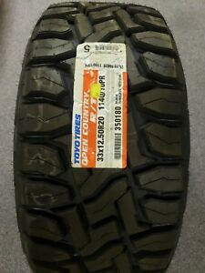 1 New Toyo Open Country R t 33x12 50r20 114q On off Road Rugged Terrain Tires