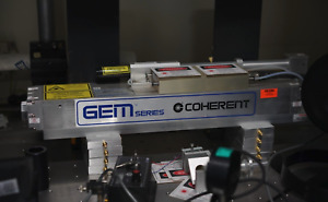 Coherent Gem Series 100w Laser tested r1400 00 0003 Rev Aa controller p supply