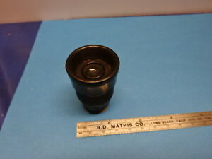 Antique Bausch Lomb Or Zeiss Rare Micrometer Eyepiece Microscope Part As Is 9013