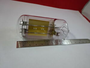Huge Bliley Quartz Glass Envelope Resonator Frequency Control Huge Blank 1 dt 02