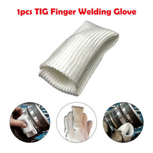 150mm Tig Finger Welding Gloves Heat Shield Guard Heat Protection Gear For Weld