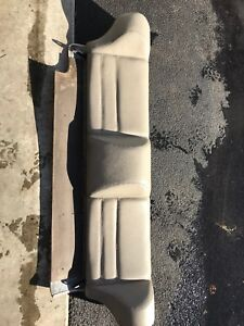 1987 Porsche 944 Interior Rear Upper Seat Back With Cargo Cover Leather Assy