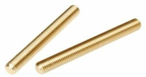 Solid Brass All Thread Threaded Rod Bar Studs 1 2 13 X 72