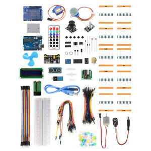 Beginner Learning Basic Part Kit For Arduino Uno R3 Upgraded Version Suite Te923