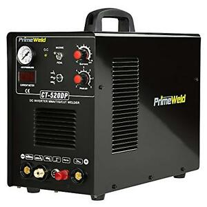 Primeweld Ct520dp Pilot Arc 50a Plasma Cutter 200a Tig stick Welder With Stick