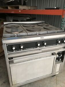 Toastmaster Electric Range Convection Oven 6 Commercial Hot Plate And Oven Good
