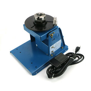 Ship Rotary Welding Positioner Turntable Table Mini 2 5 3 Jaw Lathe Chuck Us