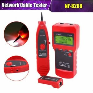 Multipurpose Noyafa Nf 8208 Network Rj45 Cable Tester Wire Tracker Short circudp