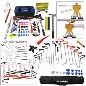 New Rod Tool Set Professional Auto Paintless Lifter Dent Repair Hail Removal Kit