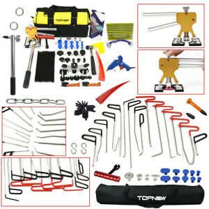 16x Rods New Tools Kit Car Body Paintless Dent Repair Whale Hail Removal Tools