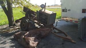 1930s Waukesha 4 Cyl Engine Saw Rig Factory Made Original Wi Ccc Camp Stationary