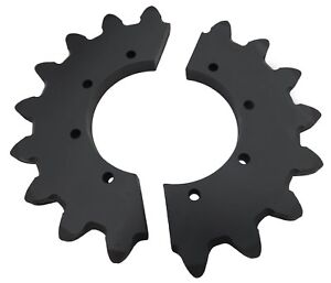 17 Tooth Split Sprocket 163645464 Fits Ct1010 Vermeer Compost Turner