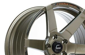 Cosmis Racing S1 18x10 5 5 5x114 3 Bronze Non staggered Concave set Of 4