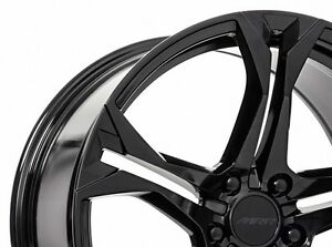 Glossy Black Mrr M017 Rims Camaro Rs Ss Z28 Zl1 20x10 23 20x11 43 Staggered