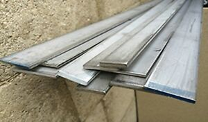 Alloy 304 Stainless Steel Flat Bar 1 2 X 4 X 72