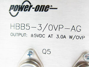 Power One 5vdc 3 0a Power Supply Hbb5 3 ovp ag New Free Shipping
