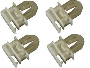 Oem 11561829 Grille Retainer Clip Set Of 4 Plastic For 06 10 Hummer H3 09 10 H3t