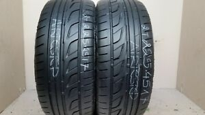 1 Tire 225 45 17 Bridgestone Potenza Re 050a760 Sport 80 Tread