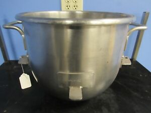 Hobart Vmlh 30 30 Qt Stainless Steel Mixing Bowl