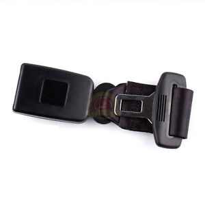 9 Car Seat Seatbelt Adjustable Safety Belt Extender Extension 7 8 buckle Black
