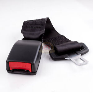14 Universal Car Seat Seatbelt Safety Belt Extender Extension 7 8 Buckle Black