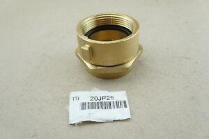 New Moon American Fire Hose Adapter Fnst X Fnpt Brass 364 25225621 Ships Free