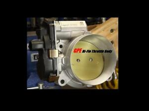 Ported Gm Throttle Body camaro corvette silverado Zl1 zr1 zo6 lsa ls9 ctsv tb