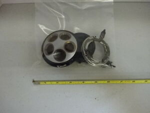 Microscope Part Leitz Ortholux Nosepiece Assembly Pieces As Is Aj 18