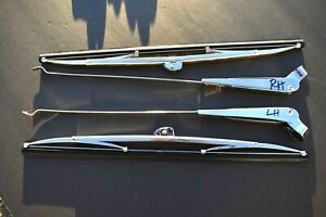 1954 1955 1956 1957 1958 1959 Chevy Or Gmc Truck New Pair Wiper Arms Blades