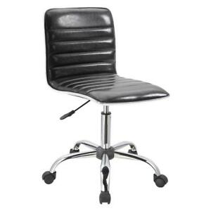 Office Task Chair Armless Executive Computer Desk Receptionist Modern Chair