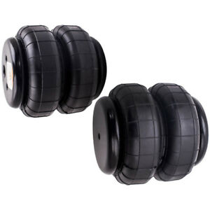 2x Air Ride Suspension Universal Standard 2500lb 1 2 Npt Single Port Heavy Duty