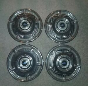 1960 S Chevy Vintage 14 Hubcaps