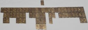 New Hermes Engraving Fonts Fancy 63 Piece Lot