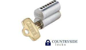 Uncombinated Cylinder Core Standard Sfic 7 pin G Keyway Satin Chrome Plated