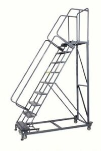 Expanded Metal Stairs Monster lad 6x Number Of Steps 6 Base W X D 32 X 56