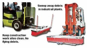 Sweepex Pro broom Replacement Brush Hpbk 720 Size 72 Pro Brush Sections Wt