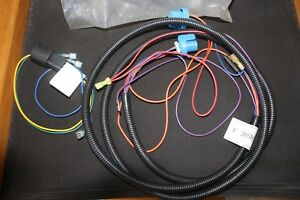 Western Fisher Snow Plow Wiring F 20581 And 20589