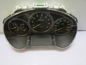 Jdm 02 03 Subaru Wrx Sti Version 7 180kmh Black Face Gauge Cluster Speedometer