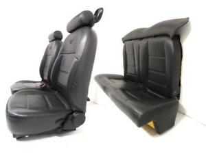 Ford Mustang Seats Black Leather 2004 2003 2002 2001 2000 1999 1998 1997 1994