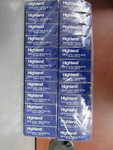 Lot Of 24 Rolls Of Highland 5910 Transparent Tape 3 4 X 1296 26e