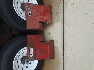 International Harvester Ih Farmall Tractor Front Slab Weights 388393r1