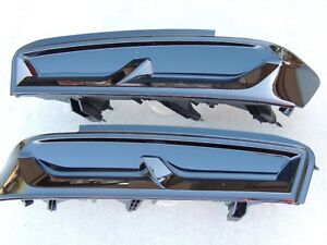 16 18 Chevy Camaro Smoked Tail Lights Black Led Oem Chevy Tinted Factory