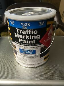 Handicap Blue Striping Paint Rae Products 7033 Gallon
