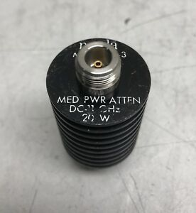 Narda Model 768 3 Medium Power Attenuator D 11 Ghz 20w