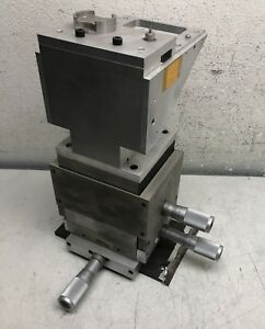 Micro Controle Xyz 3 axis Stages W Vertical Stage Micrometers
