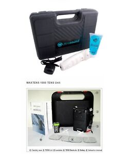 Ultrasound Portable Unit Pm 2000 Tens Pain Management Electrotherapy Package